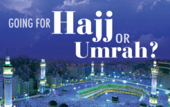 Going for Hajj or Umrah?